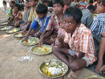 Food Relief Started in Ugalpur (Orissa)