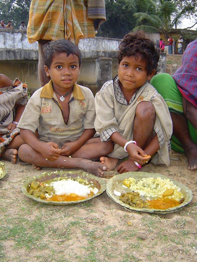 Bhaktivedanta Ashram Food Relief